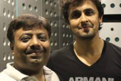 Jatin With Sonu Nigam