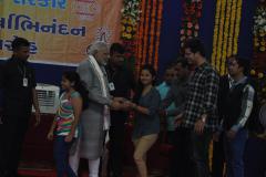 Hetvi and Shailly with  PM Shree Narendra Modi...