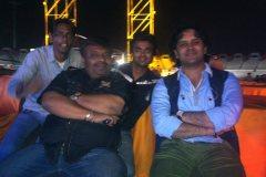 with javed Ali @ A. R.  Rahemaa live concert  Ahmedabad