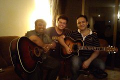 Great time with Rashid Ali