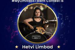 Hetvi  Limbad [Winner of  Indian Idol's #mylimitlesstalent 2020-21]