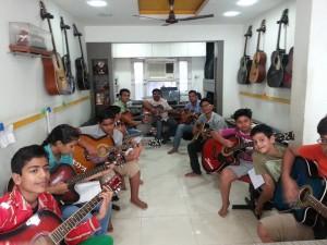 Het Music Academy Shahibaug, Ahmedabad students