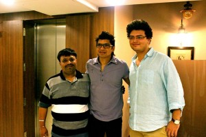 Jatin-Pratik with Shaan