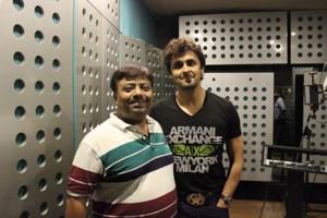 Jatin Limbad with Sonu Nigam