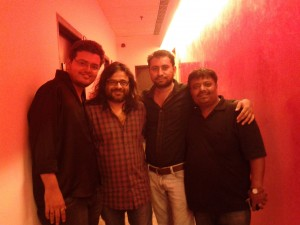 Jatin-Pratik with Pritam @ YRS