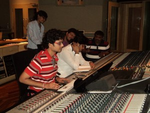 Recording With Javed Ali @Yashraj Studio