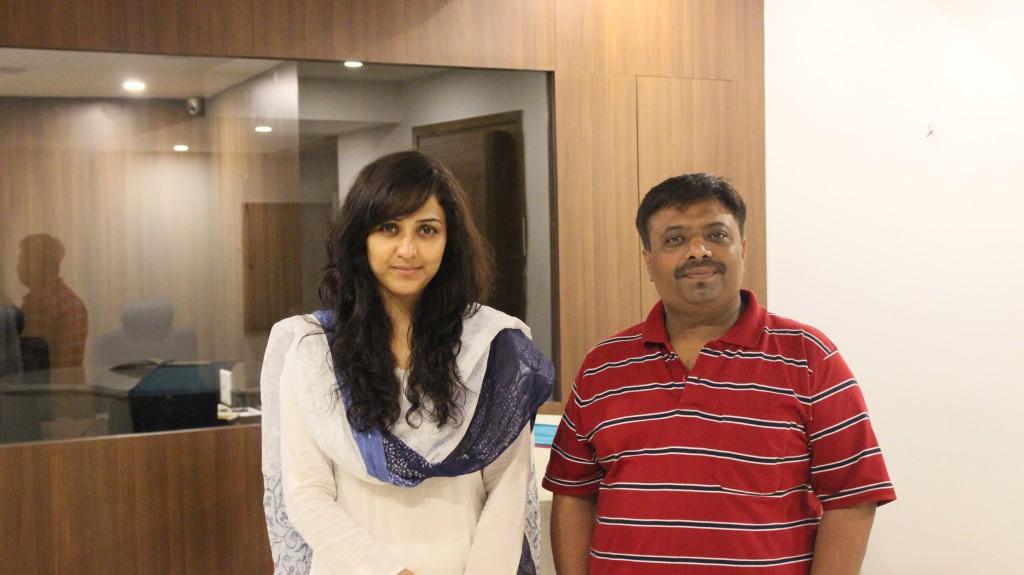 Jatin Limbad with Neeti Mohan